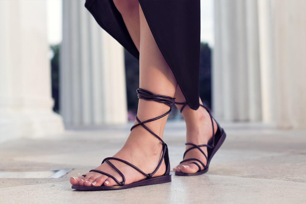 Herpistolgo, HM, leather, sandals, sandalen